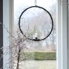 Kerzenhalter Ring In Schwarz Noir