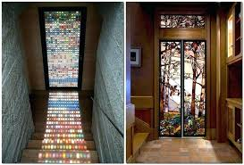 stained glass interior doors home depot vintage door internal stained glass interior sliding