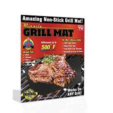 As Seen TV Miracle Grill Mat Walmart