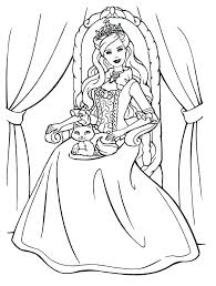 Barbie Printable Coloring Fashion Coloring Pages Barbie Printable