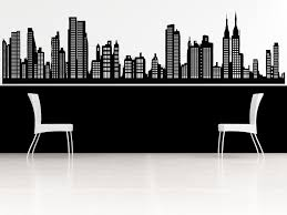 44 new york skyline wall decal items similar to new york skyline wall decal on etsy mcnettimages  on new york skyline wall art stickers with 44 new york skyline wall decal items similar to new york skyline