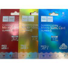 Thẻ nhớ Micro SD HOCO 16GB 32GB 64GB Class 10 (Chính hãng) chuyển từ thẻ  Micro SD sang SD