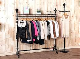 rustic clothes rack excellent great urban industrial garment rack clothes racks in stand up within used commercial clothes rack popular rustic laundry