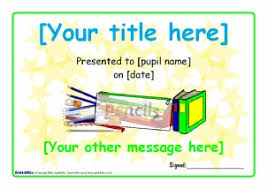 School Certificates Template Primary School Award Certificates Printables Sparklebox