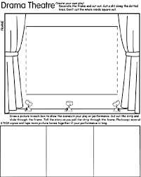 Small Picture Drama Theatre Coloring Page crayolacom