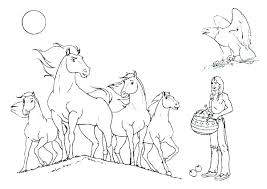 Clydesdale Coloring Pages Pizzafoodclub