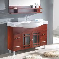 Image of Remodel narrow bathroom vanities