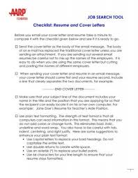 The email you send with your resume might reach the hiring manager in a hurry. Resume And Cover Letters Aarp Worksearch