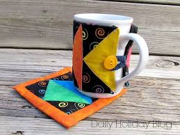 Art Deco Mug Rug Pattern and Sleeve | Art deco, Patterns and ... & Art Deco Mug Rug Pattern and Sleeve Adamdwight.com