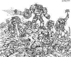 warhammer 40k coloring book Ð Ð¾Ñ Ð¾Ð³Ñ Ð Ñ Ð