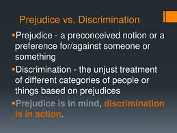 major difference between prejudice and discrimination essays  prejudice beyond intractability