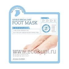<b>маска для ног комплексный</b> уход Double&Zero корейское качество