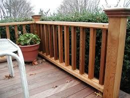 wooden porch railing best 25 railings ideas on deck front 1