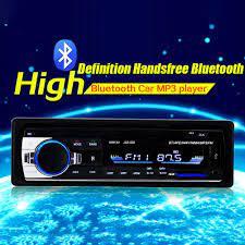 Máy nghe nhạc mp3 bluetooth cho xe hơi âm thanh stereo 4x60w đài phát thanh  xe bộ thu đầu vào aux 1 din fm trong bảng điều khiển 12v - Sắp xếp