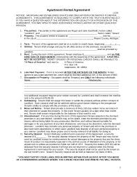 rental agreement rental lease agreement form simple rental agreement 02