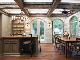 rustic dining room light. Rustic Dining Room Lighting Design With Ceiling Fan Lamp And Candle Chandelier Light L