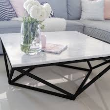 marble coffee table. 100% Italian Cararra Marble Coffee Table By Meir. Get The Look At Www.