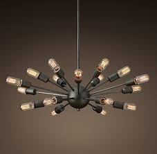 modern sputnik chandelier home lighting ideas mid century style