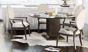 If i use a paper towel, it will make holes in the paper towel and eventually crumbles. Bernhardt Clarendon 5 Piece Round Dining Set The Dump Luxe Furniture Outlet
