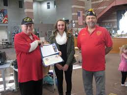 My Phantom Father    What Does Patriotism Mean to Me  Park Bugle Menard seventh grader Meredith Seeling won first place