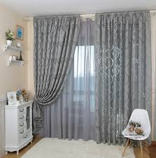 Home Decor Curtains Designs Leaf style design jacquard curtain blind for window living room home 2