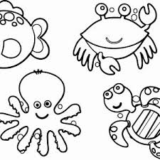 Ocean Animals Color Pages Save Ocean Animal Coloring Book Fundinghunt Co