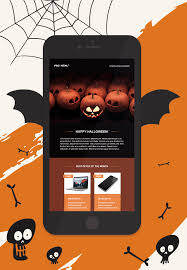 All Treats No Trick This Free Halloween Email Template Is So