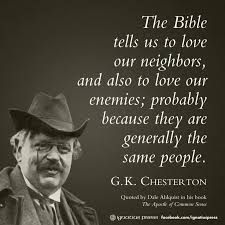 Gk Chesterton Quotes On Christianity Best Of 24 Gilbert K Chesterton Quotes 24 QuotePrism