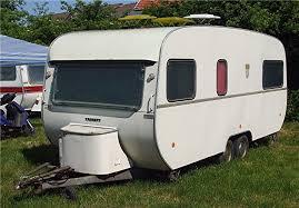 Une Caravane Tabbert De 2 Essieux Des Années 70 Tabbert