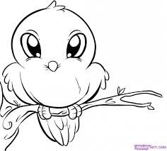 Easy Coloring Pages Of Animals With Kids Animals Drawing At