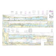 Intracoastal Waterway Nautical Charts Noaa Nautical Chart 11472 Intracoastal Waterway Palm Shores To West Palm Beach Loxahatchee River