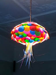 kids pendant lighting. Colored Paper Jellyfish Light Shade Kids By MelsCreativeDesigns, $55.00 Pendant Lighting