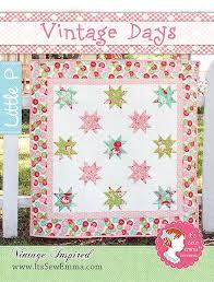 Vintage Days Quilt Pattern It's Sew Emma Little P #ISE-505 | It's ... & Vintage Days Quilt Pattern It's Sew Emma Little P #ISE-505 Adamdwight.com