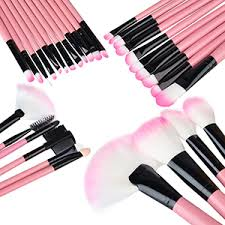 amazing brush set plete your makeup application with this amazing 32 piece