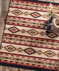 cabin rug rustic rugs living room area