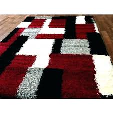 red gray rug black white and area amusing brown gy pictures