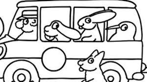 La Pimpa In Autobus Disegni Da Colorare Cartoni Animati Disegni Da