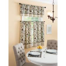 Better Homes And Garden Kitchens Better Homes And Gardens Fresh Brewed Kitchen Kitchen Curtains