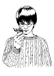 Disegno Harry Potter 103