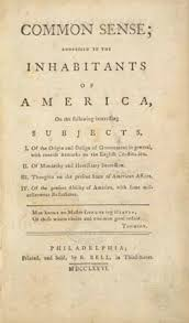 thomas paine biography common sense rights of man  title page from thomas paine s pamphlet common sense 1776