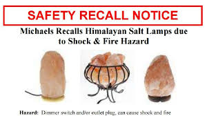 Recall On Himalayan Salt Lamp Amazing Michaels Stores Recalling Himalayan Salt Lamps KOKH