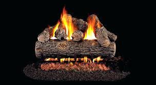 gas fireplace log sets real golden oak designer plus gas fireplace log sets home depot