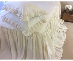 customlinenshandmade on bedspread cream linen bedspread cream bedding linen bed cover shabby chic bedding queen bedspread king bedspread usd
