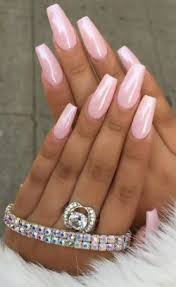 Square White Acrylic Nails Artificial Nails On Stylevore