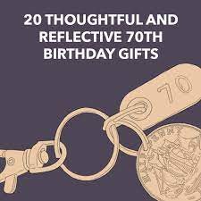reflective 70th birthday gifts