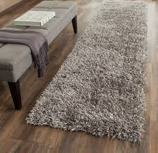 gray area rug long