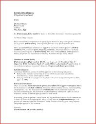 Letter Of Appeal Sample Template Unique Admission Appeal Letter Template npfg online 1