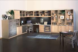 home office workspace. Lovely Design Office Cabinets 5681 Enchanting Fice Designs L Shaped Custom Home Workspace