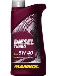 <b>Mannol DIESEL TURBO 5W40</b> Synthetic oil (PAO) diesel engine 5W ...