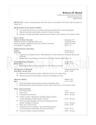 Examples Of Nursing Resumes Custom Objective For A Resume Examples Resume R Chef Objective Resume
